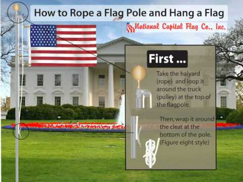 Are Bound to pole with rope your