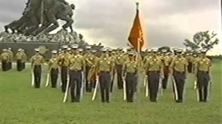 1991 Marine Military Academy (MMA) Drill and Graduation
