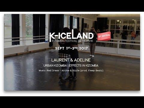 Laurent & Adeline | K-Iceland Kizomba Festival 2017 | Red Dress - Archie & Sizzle
