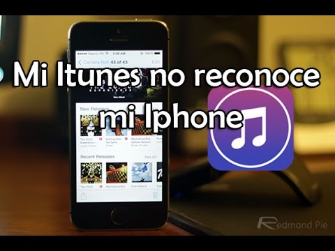 Mi iTunes no reconoce mi iPhone - Solucion!!