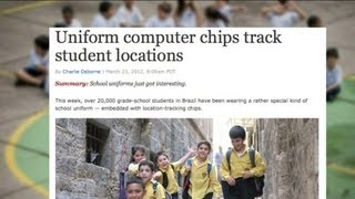 Public Schools Use GPS Uniforms to Track Students! (Nanny of the Month, April 2012)
