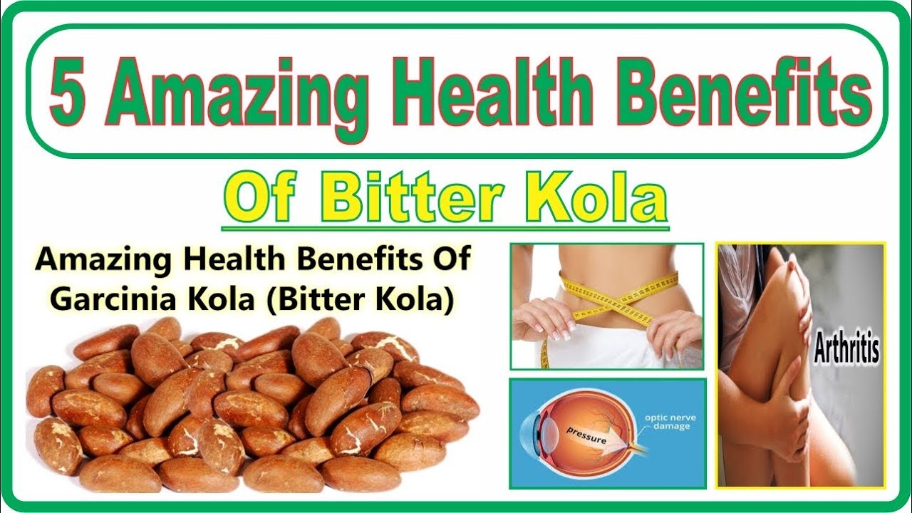 5 Amazing Health Benefits of Bitter Kola | Easy Health Tips | Dr Sheen