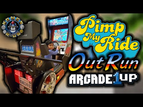 Pimp My Ride: OutRun Arcade1Up Edition (Bench Seat Mod, Tail Lights, Spoiler, & More!) from Kongs-R-Us