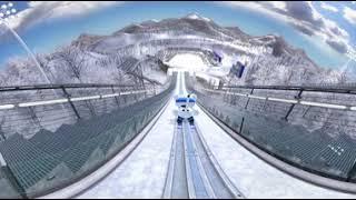 2018평창올림픽 경기종목 스키점프, 알파인스키 VR영상