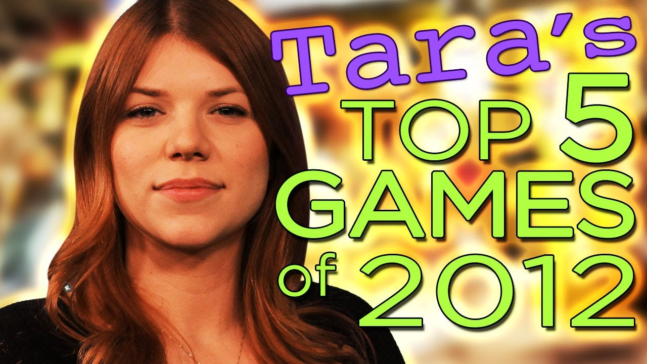 The Best Games Of 2012 Tara Long Edition Youtube