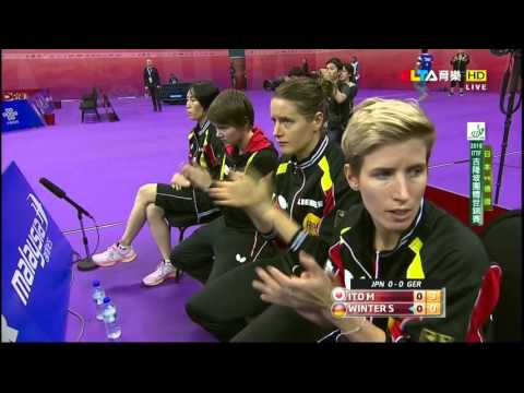 2016 WTTTC (WT-QF) Japan Vs Germany [HD] [Full Match/Chinese