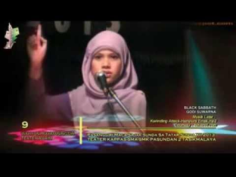 Sajak Sunda-PMSS XII SMA Pasundan 2 Tasikmalaya-Wahyuni Rahmaningsih