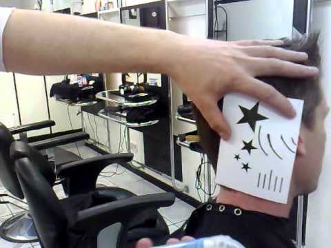 star hair tattoo-extreme barber