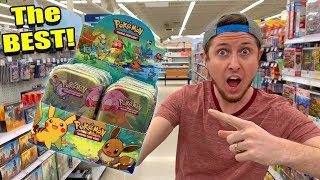 NEW KANTO FRIENDS Possibly The BEST POKEMON CARD MINI TINS EVER! Opening Every One