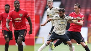 POGBA vs FERNANDES - Manchester United Closed Doors Match at Old Trafford 06/06/2020 HD
