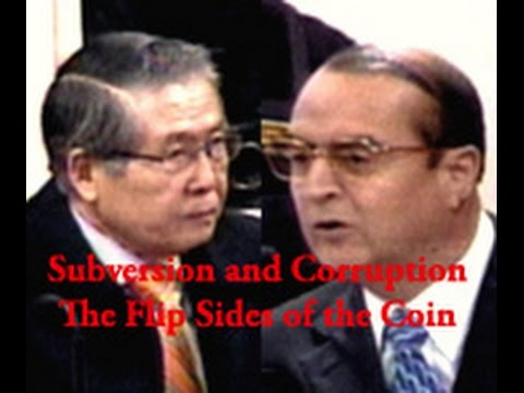 Fujimori and Montesinos - The Flip Sides of the Coin