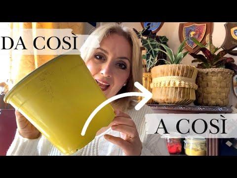 Download Come riciclare VASI orrendi e trasformarli in CACHEPOT di lusso! (Home decor/Riciclo) Arte per Te