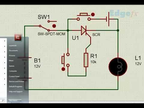 SCR Silicon Controlled Rectifier Power Electronics Projects - YouTube