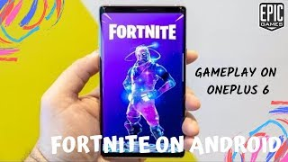 Fortnite Mobile Android is HERE for ALL Devices || ONEPLUS 6 GAMEPLAY || Download Now✨