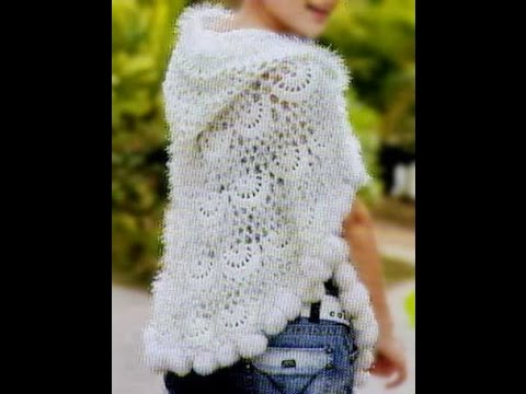 Crochet Patterns For Free Poncho Patterns For Kids 1113 Youtube