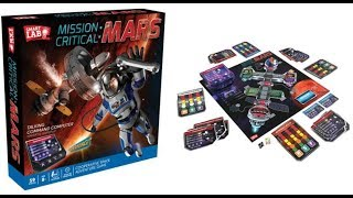 Mission Critical: Mars Board Game Opening & Review