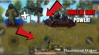 YOU CANT SEE ME!! - PUBG Mobile - AUG A3 Is Crazy