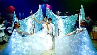 Шоу Сопровождение первого танца молодых, Краснодар. Заказ шоу на свадьбу