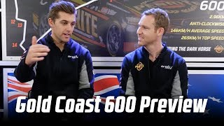 David Reynolds & Anton De Pasquale Supercars Gold Coast 600 Preview