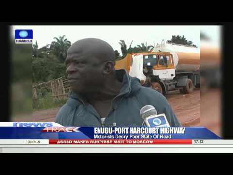 Motorists Decry Poor State OF Enugu Port-Harcourt Highway