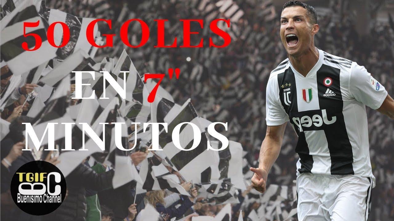 Los 50 mejores goles de Cristiano Ronaldo / MANCHESTER/REAL MADRID/JUVENTUS
