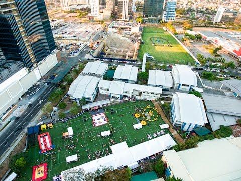 Aerial Footage from a Phantom 4 Makati Manila Drone Fort Bonifacio Global City BGC