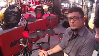 NAMM 2016 ddrum DD1 Plus Electronic Drum Kit