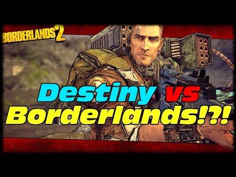 Borderlands vs Destiny! Which Do You Like Better? MAK Sunday Q&A! Borderlands 2 MAKxton Torgue DLC!