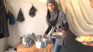 A Young Syrian Girl's Life As A Refugee
