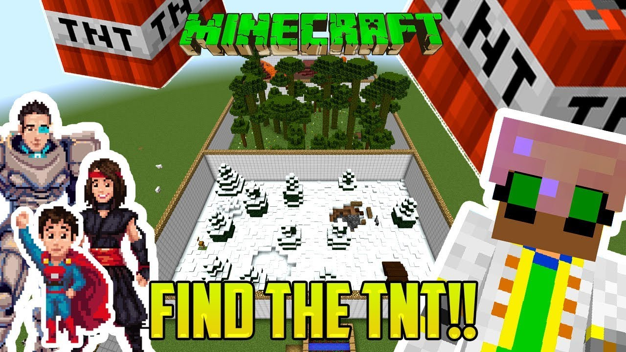 Minecraft We Must Find The Tnt And Make It Explode Youtube