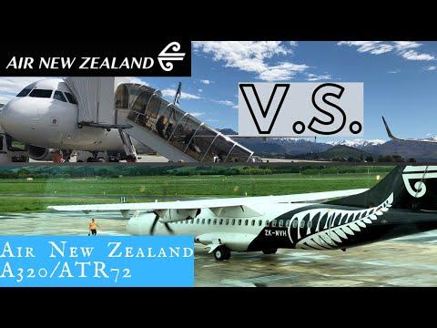 Air New Zealand Domestic: Jet Vs. Prop!