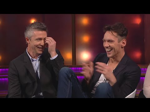 Aidan Gillen's first encounter with Jonathan Rhys Meyers is not what you'd expect...