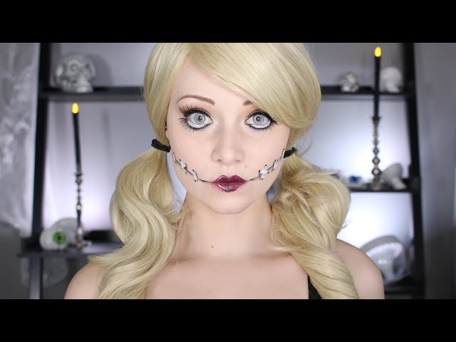 How to do 'Big Eyes' makeup for Halloween because dolls are delightfully creepy - HelloGiggles