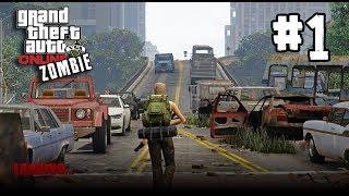 GTA V online Zombie survival[Thai] #1 ซอมบี้ต่อยคน