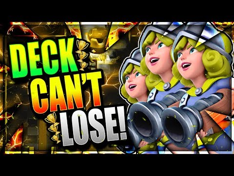 UNDEFEATED w/ BEAST 3 MUSKETEERS DECK!! Clash Royale Three Musketeers Deck 2018
