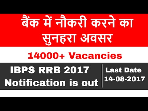 IBPS RRB 2017 Notification | Eligibility | Dates | Exam Pattern and Preparation tips