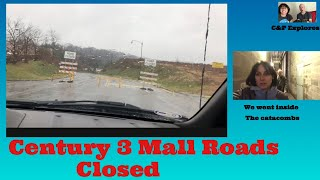 Century 3 Mall Roads Closed/Exploring the Malls Catacombs