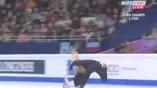 Very bad figure skating Accident