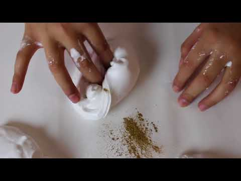 DIY Metallic Slime