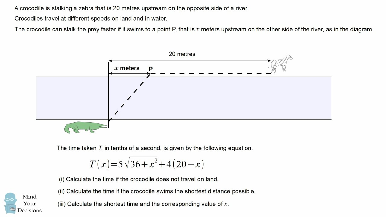 Crocodile Maths Problem That Stumped Scottish Students