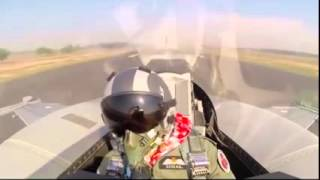 Pakistan Air Chief Marshal Sohail Aman Flying The F-16 Block 52+ on Pakistan Day Parade