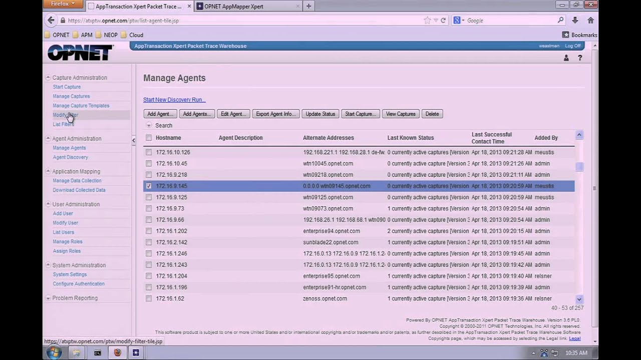 Sharkfest 2013 - Accessing Packet Traces From Multiple Locations (Bill  Eastman)
