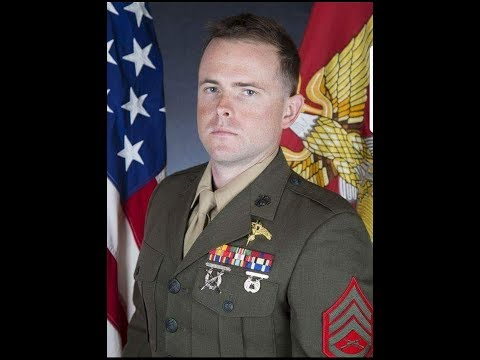 USMC SSgt Robert Cox---A Heroes Homecoming...Services....Honors #AHeroRememberedNeverDies