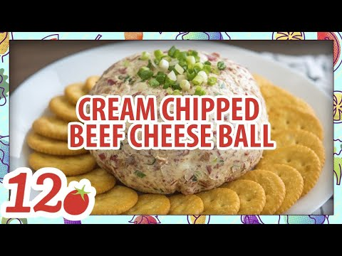How to make: Cream Chipped Beef Cheese Ball