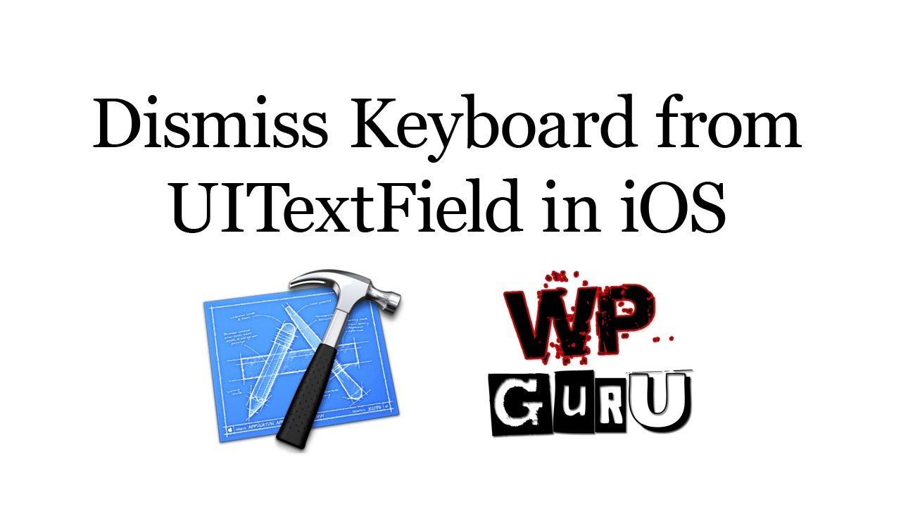 How to dismiss the keyboard from a UITextField in iOS | iOS