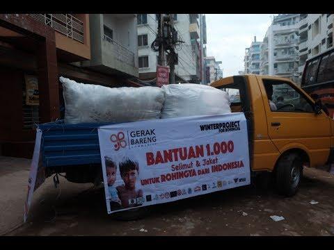 Bantuan 1.000 Selimut & Jaket untuk Rohingya