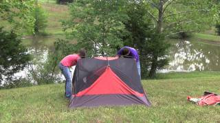 Setting Up the ALPS Mountaineering Chaos Tent.mov