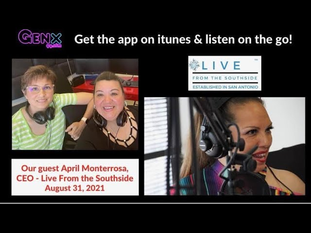 SA Life Stuff Show - Episode 1: Interviewing April Monterrosa, Creator of Live from the Southside