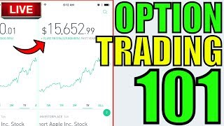 How To Start Trading Options  Option Trading LIVE LESSON  Day Trading Hot Stocks News amp 3 Stocks