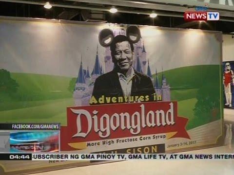 Mga painting tungkol sa administrasyong Duterte, tampok sa art exhibit